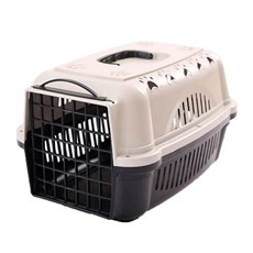 Caixa De Transporte Para Cães E Gatos Durapets Falcon N.1 Preta