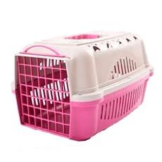 Caixa De Transporte Para Cães E Gatos Durapets Falcon N.1 Rosa