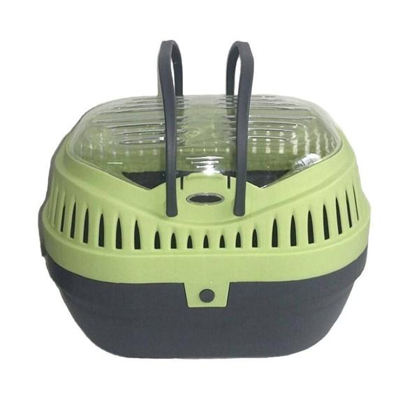 Caixa Transporte Hamster Mini Gulliver P Verde - Chalesco