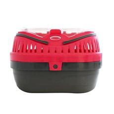 Caixa Transporte Hamster Mini Gulliver P Vermelho - Chalesco