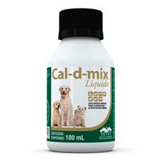 Cal-d-mix Suplemento Liquido Vetnil  100mL