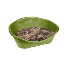 Cama Plástica Com Almofada Para Cães Tamanho 3 Verde Abacate - Chalesco