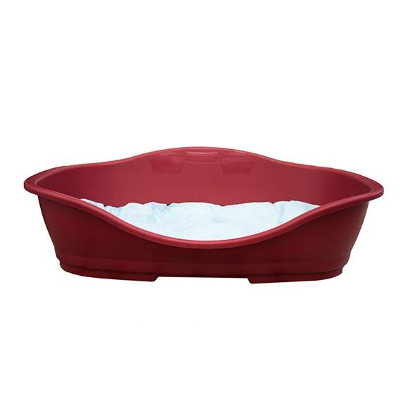 Cama Plástica Vermelha Chalesco - Tam:06