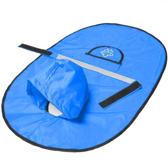 Capa de Chuva para Cachorro Agridoce Azul