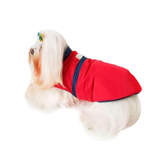 Capa para Cachorro em Nylon - Vermelho - Pickorruchos