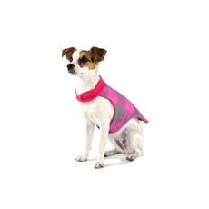 Capa para Cachorros e Pets Roupinha Dupla Face Rosa/Xadrez Emporium Distripet