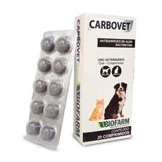 Carbovet Biofarm 20 Comprimidos