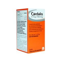 Cardalis Para Cães 11 a 20kg C/30 Comprimidos - Ceva