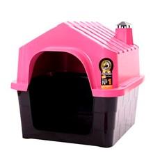 Casa Durapets Plástica Durahouse N.1 Rosa