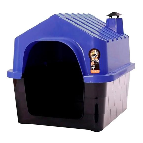 Casa Durapets Plástica Durahouse N.4 Azul