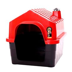 Casa Durapets Plástica Durahouse N.4 Vermelha