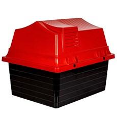 Casa Jel Plast Plástica N°2 Vermelha