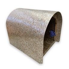 Casa Pet Lar Cães Reciclada Porta Maior Nº2