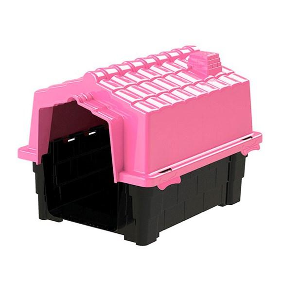 Casinha De Cachorro Eco Grande De Plastico Desmontavel N2 Pink
