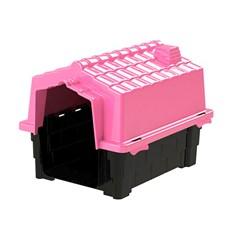 Casinha De Cachorro Prime Grande De Plastico Desmontavel N3 Pink