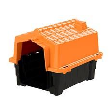Casinha De Cachorro Prime Pequena De Plastico Desmontavel N1 Laranja