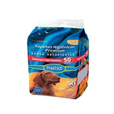 Chalesco - Tapete Higiênico para Cachorro - 50 Unidades
