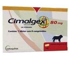 Cimalgex 80mg Cães C/8 Comp. Vetoquinil