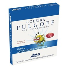 Coleira Antipulgas Pulgoff Mundo Animal 60cm