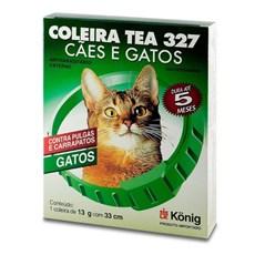 Coleira Antipulgas Tea 327 Gato  Konig – 13g