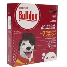 Coleira Coveli Antipulga BullDog - 64cm