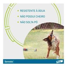 Coleira Seresto Anti Pulgas E Carrapatos Para Cães Acima 8kg
