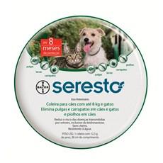 Coleira Seresto Antipulgas E Carrapatos Cães E Gatos Até 8kg