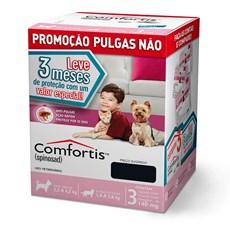 Combo Comfortis Antipulgas Cães E Gatos 140mg C/3 Unidades