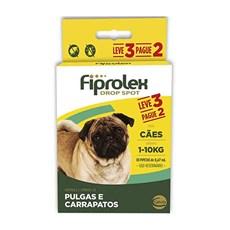 Combo Fiprolex Antipulgas Caes 1 A 10Kg - Ceva