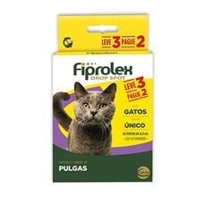 Combo Fiprolex Antipulgas Gatos 0,5mL - Ceva