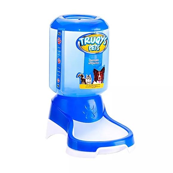 Comedouro Automatico Para Pets Azul - Truqys Pets