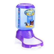 Comedouro Automático Para Pets Roxo - Truqys Pets