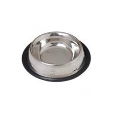 Comedouro / Bebedouro em Inox Relevo Antiderrapante para Pets 710ml