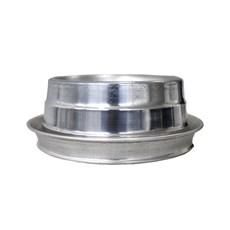 Comedouro Cães Dog Head Alumínio Anti-Formiga Pequeno - 1000mL