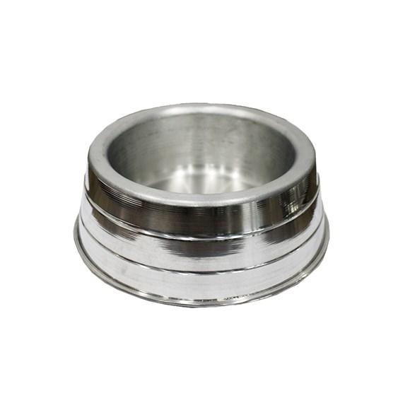 Comedouro Cães Dog Head Alumínio Leve Pequeno - 1000mL