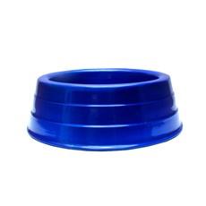 Comedouro Cães Dog Head Alumínio Pesado Colorido Azul Mini - 300mL