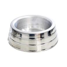 Comedouro Cães Dog Head Alumínio Pesado Pequeno - 1000mL