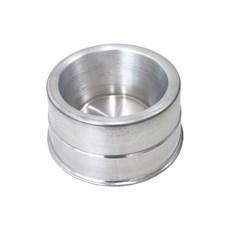 Comedouro Cães Dog Heado Alumínio Pesado Cocker - 700mL