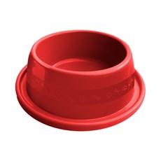 Comedouro Cães Furacão Pet Anti-Formiga Vermelho -  1900mL
