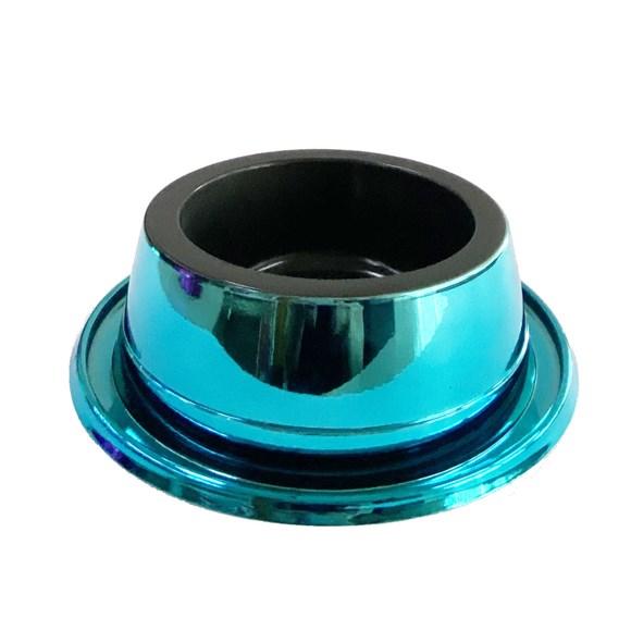 Comedouro Cães Pet Toys Filhote Antiformiga Azul Prime - 300mL