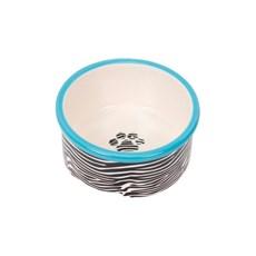 Comedouro Cerâmica Zebra - Chalesco