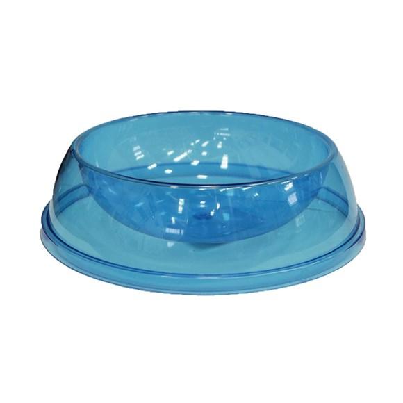 Comedouro e Bebedouro Cristal Azul Tudo Pet – 180mL