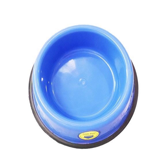 Comedouro e Bebedouro Pesado Cães Tudo Pet Azul - 450mL