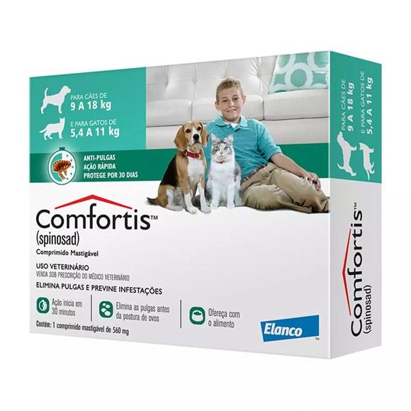 Comfortis Antipulgas Cães e Gatos 560mg