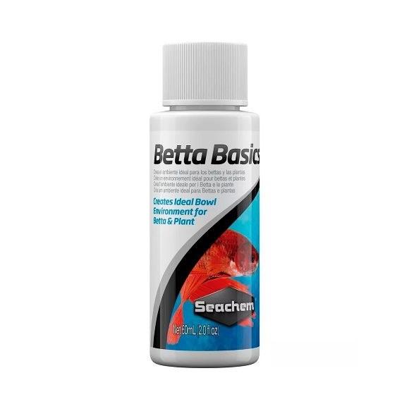 Condicionador De Agua Seachem Betta Basics Para Peixes 60ml
