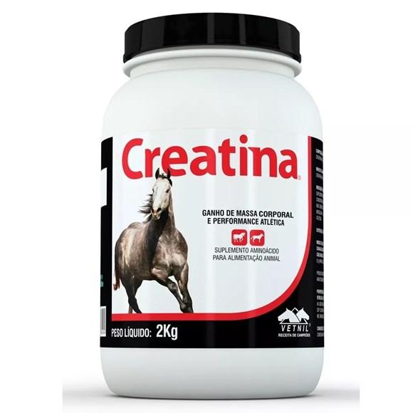 Creatina Suplemento Para Caes E Cavalos Vetnil 2kg