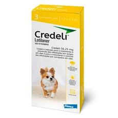 Credeli Antipulgas e Carrapatos Cães 1,3 a 2,5kg c/3 Comprimidos