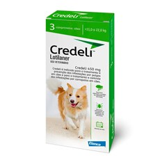 Credeli Antipulgas e Carrapatos Cães 11 a 22kg c/3 Comprimidos