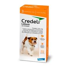 Credeli Antipulgas e Carrapatos Cães 5,5 a 11kg c/3 Comprimidos