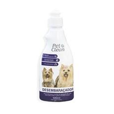 Desembaraçador de Pelo Cães e Gatos Pet Clean - 500mL
